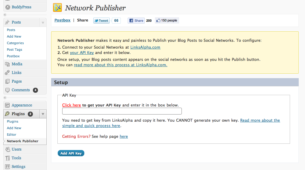 Network Publisher