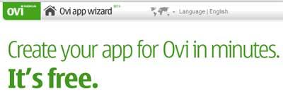 Create Nokia Ovi App