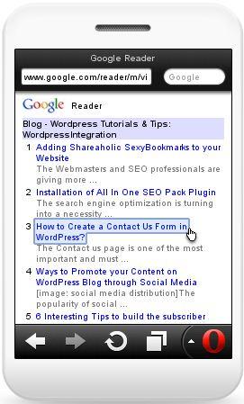 WordPressIntegration Mobile Version RSS