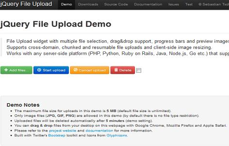 File Upload plugin