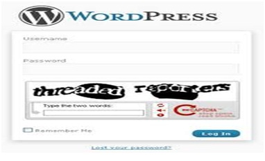 Adding Captcha in WordPress login form