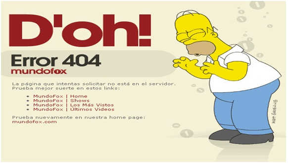 Error 404 customized