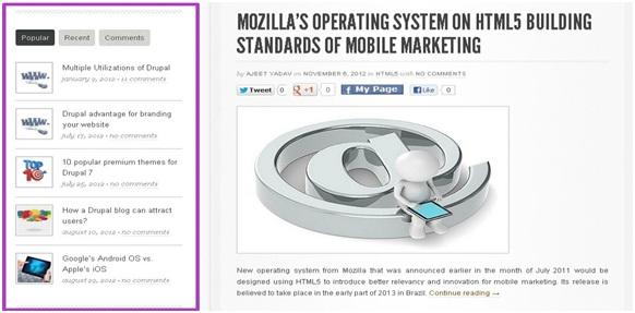 Multiple Custom Sidebars in WordPress