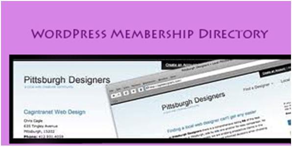 WordPress as a membership directory