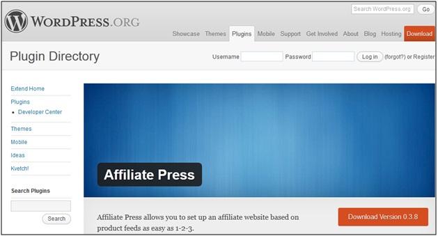 Affiliate Press Plugin