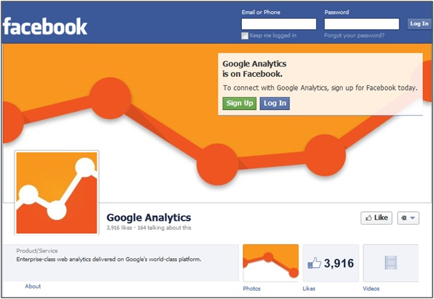 Google Analytics Facebook