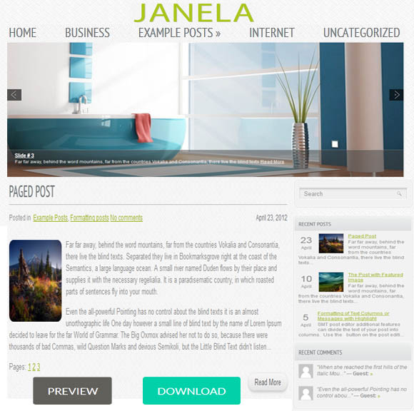 Janela Real Estate Theme
