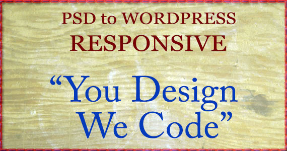 responsive psd to wordpress
