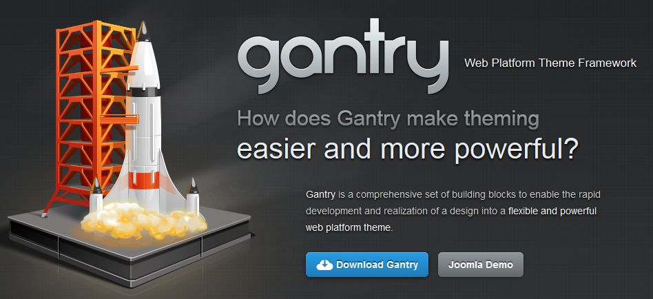 Gantry - WordPress Theme Framework