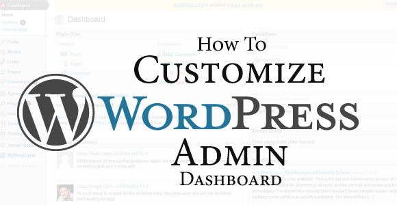 Wordpress-Admin-Dashboard