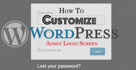 customize-wordpress-login-screen