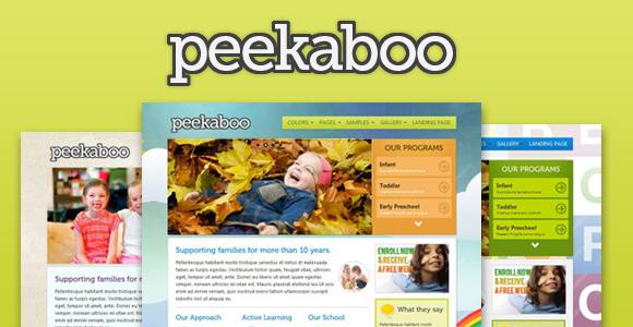 peekaboo-responsive-template