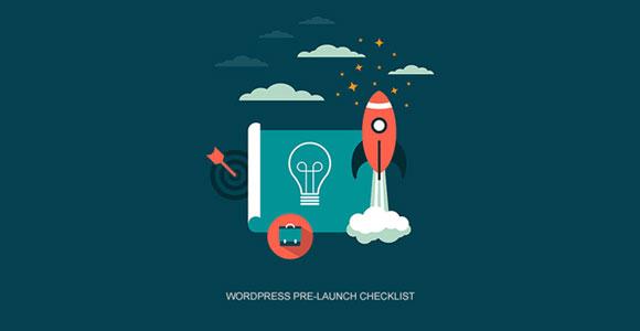 WordPress Pre-Launch Checklist