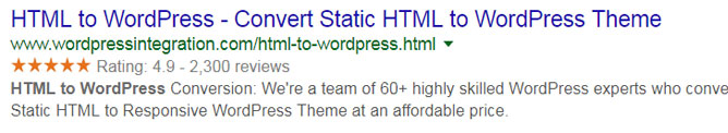 Implement Rich Snippets
