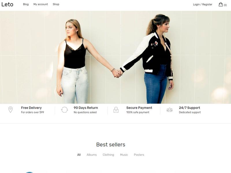 Leto WordPress Theme