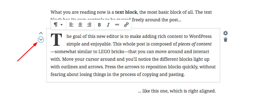 WordPress 5.0 - Block Based Writing