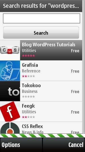 Selecting Blog WordPress Tutorial