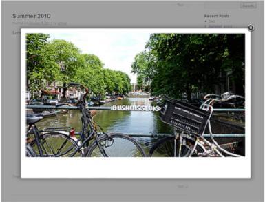 Polaroid Gallery plugin