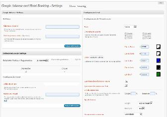 Preview of   Google adsense and hotel booking  extension