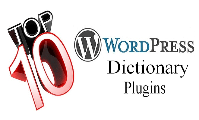WordPress Dictionary Plugins