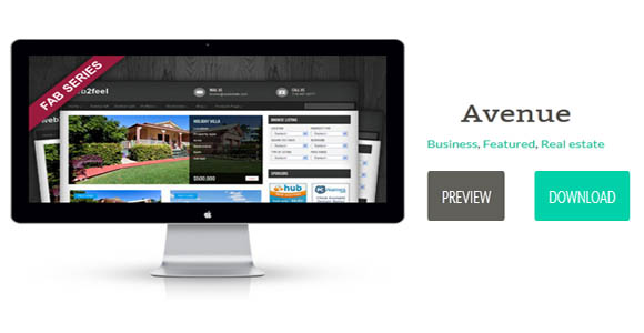 avenue real estate theme