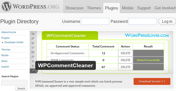 WPCommentCleaner
