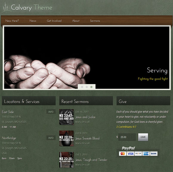 Cavalry WordPress Theme