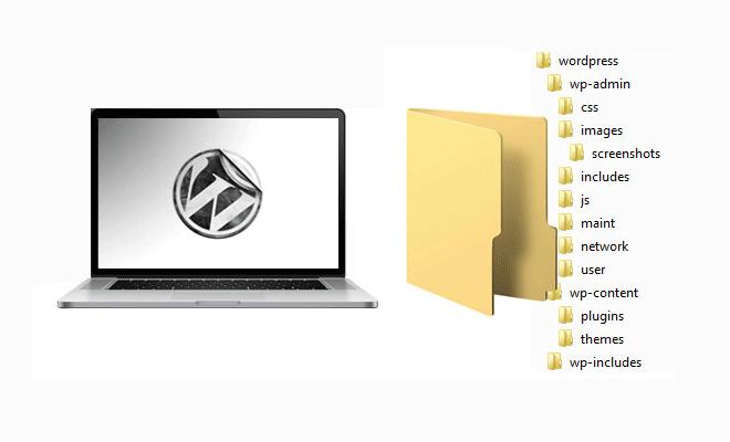 WordPress Folder Structure