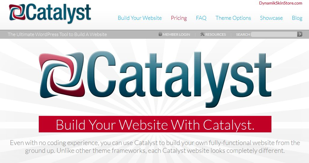 Catalyst - WordPress Theme Framework