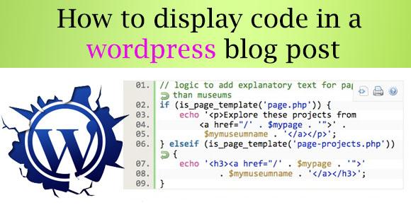 Wordpress Post Coding