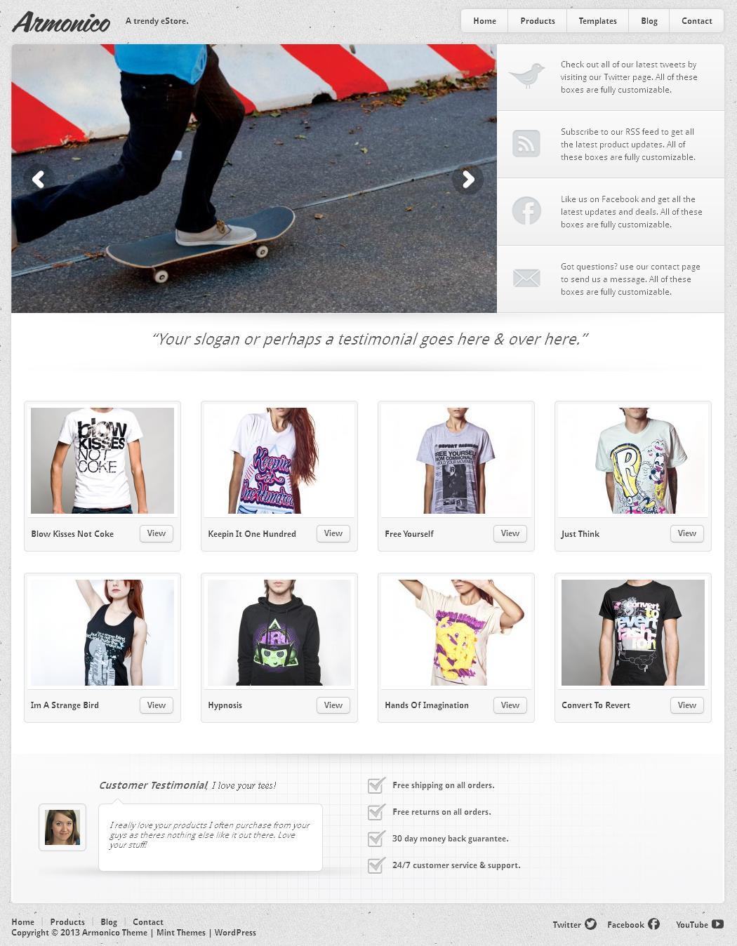 Armonico - eCommerce Theme