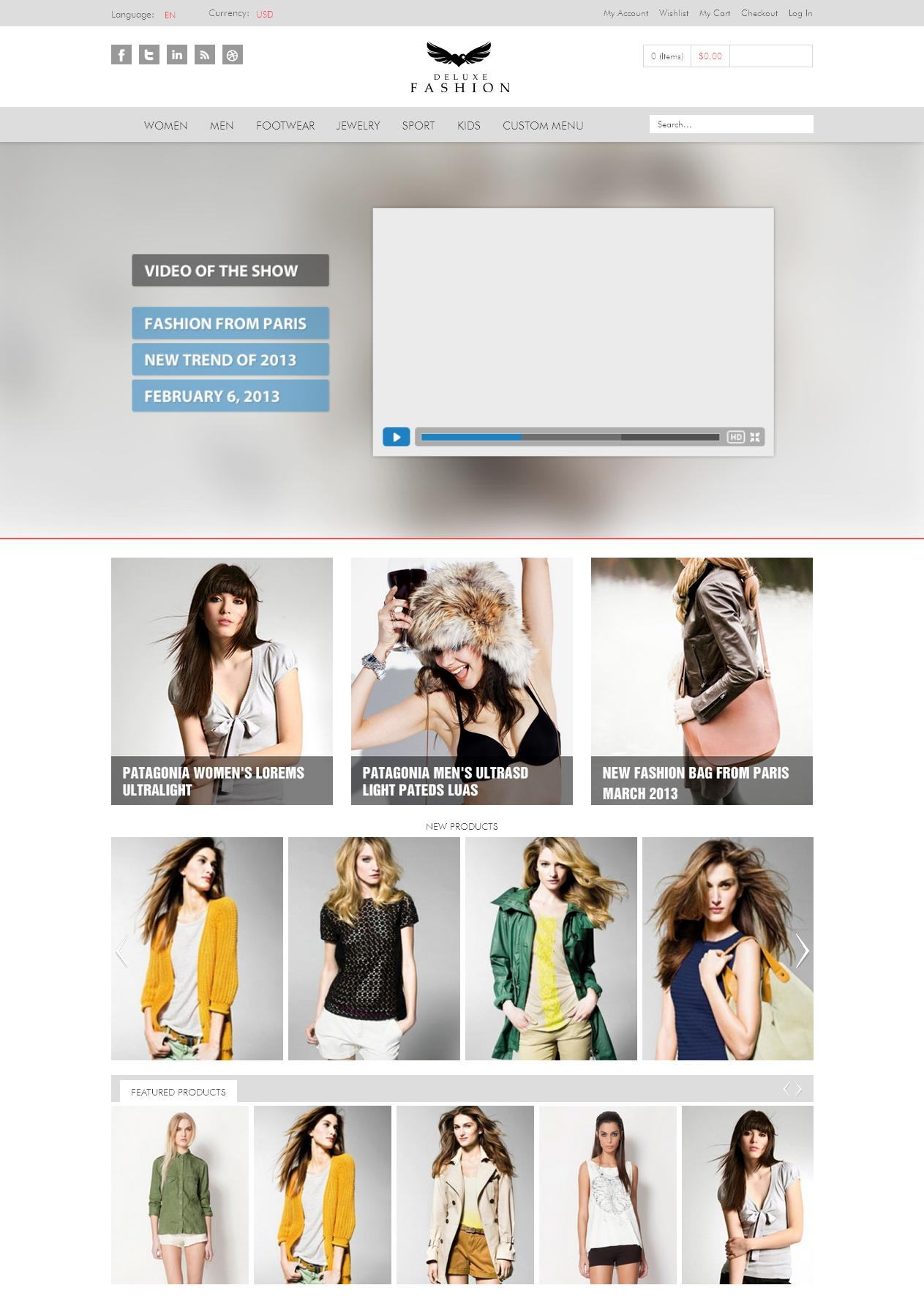 Ma Dulex - Magento eCommerce Theme