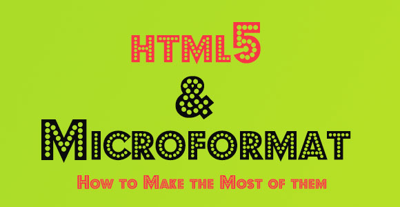 HTML5 and Microformat