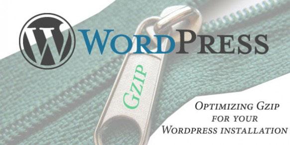 Wordpress Gzip Optimization