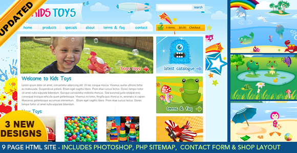 kids-toys-responsive-template