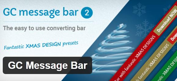 GC-Message-Bar-wordpress-plugin