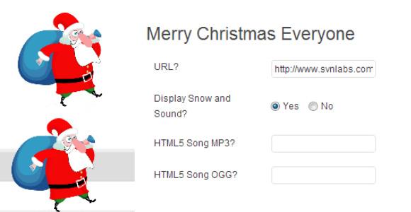 Merry Christmas Everyone-wordpress plugin