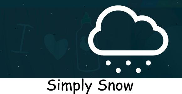 Simply-Snow-wordpress-plugin