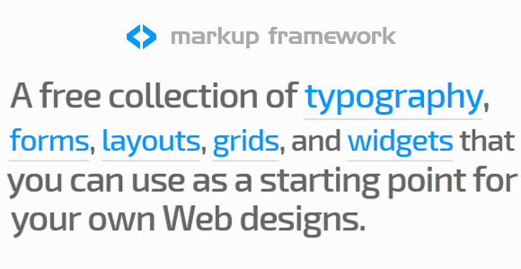 Markup Responsive Framework