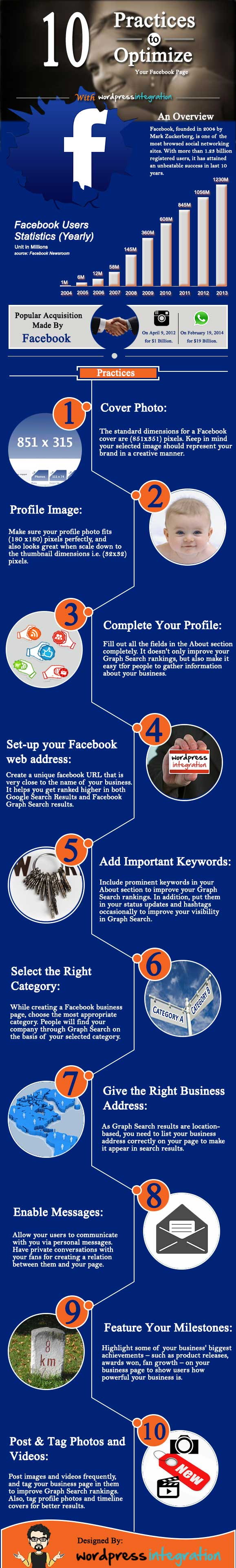 tips to customize your facebook page