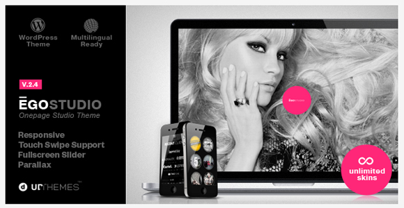 Ego - WordPress parallax theme
