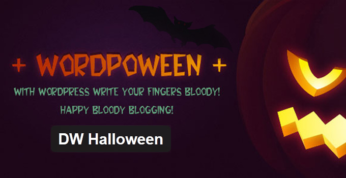DW Halloween - WordPress Plugin