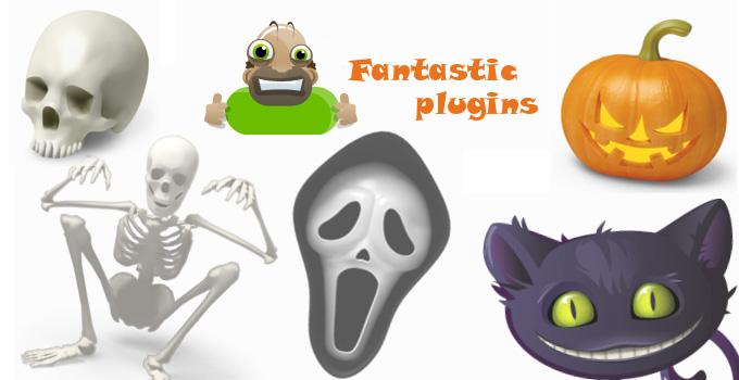 Halloween fantastic plugin
