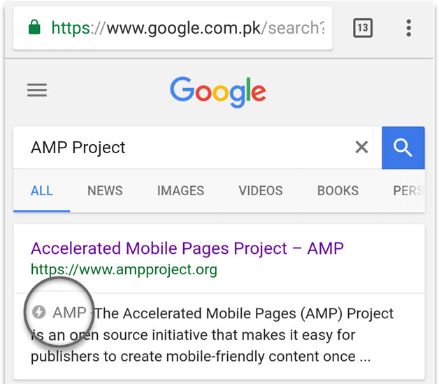 Google AMP Setup