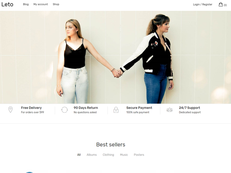 Leto WordPress Theme