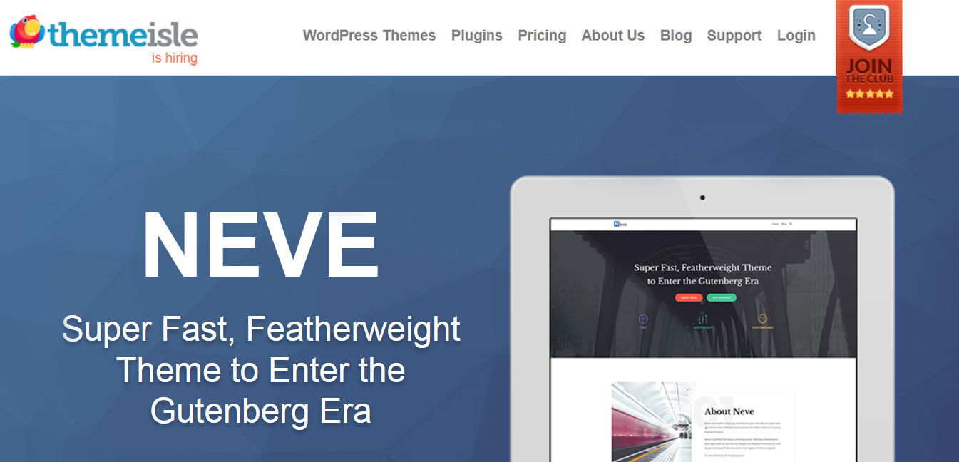 Neve - Free WordPress Customizable Theme