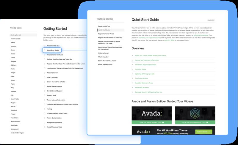 Avada WordPress Theme Features