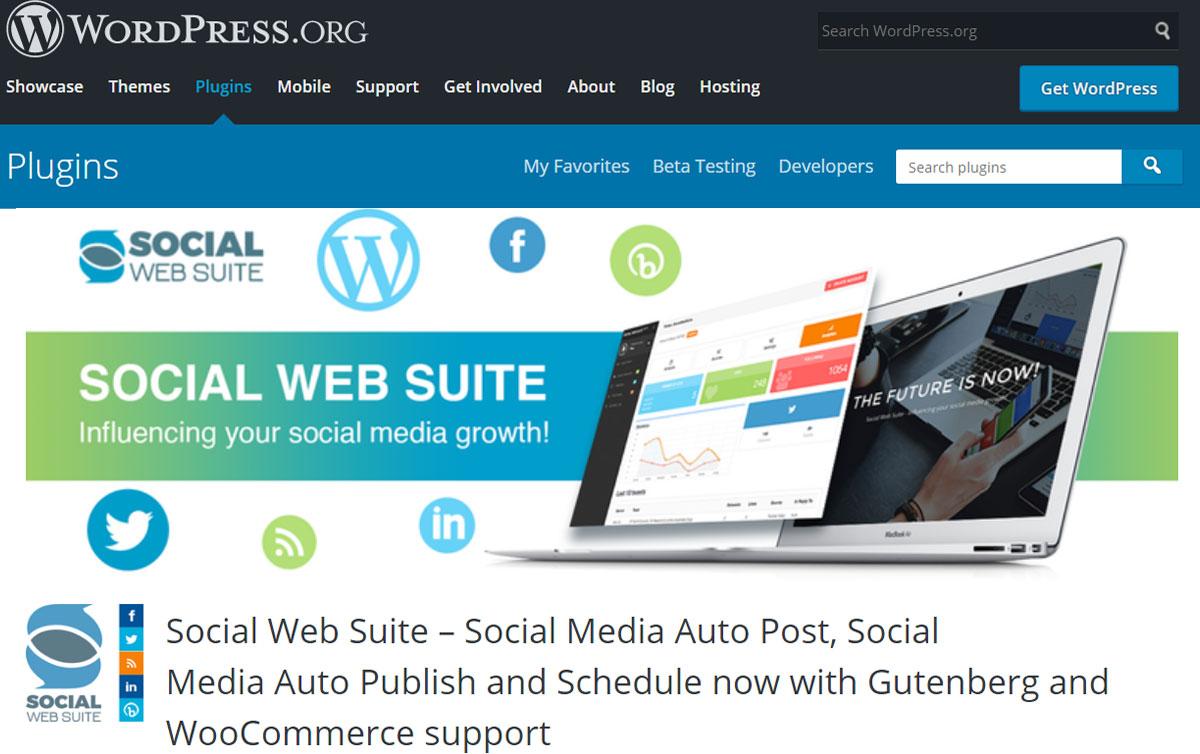 The Social Web Suite