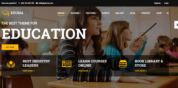Eduma - WordPress LMS Theme
