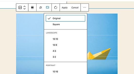 Inline Image Editing